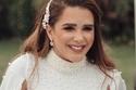 العروس شيماء صابر تخطف الأنظار بإطلالتها الناعمة
