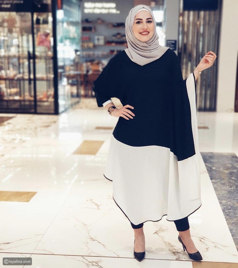 إطلالة العيد بالحجاب من وحي الفاشينيستا رشا البيك
