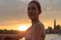 أشعلت النجمة التركية مريم أوزرلي الأجواء فيمهرجان فينيسياالسينمائي