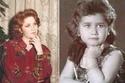 الفنانة ميادة الحناوي في طفولتها