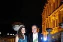 الأميرة فوزية لطيفة مع والدها الأمير أحمد فؤاد