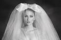 طرحة زفاف تل من مجموعة فساتين زفاف زهير مراد صيف 2022