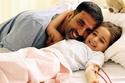 أكشاي كومار مع ابنته