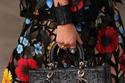 حقيبة Lady Dior من الجلد