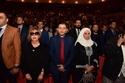 سمية الألفي وابنها عمر في حفل تكريم الراحل فاروق الفيشاوي