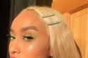 مكياج عيون نيون مميز من صيحات مكياج 2020