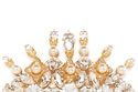 """مشبك شعر ذهبي مرصع بالحجارة من """"Dolce&Gabbana;"""""""