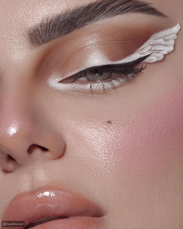 الكحل الأبيض ينافس الأسود لعيون ساحرة: وهذه نصائح خبراء التجميل