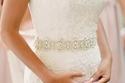 أحزمة فساتين الزفاف موضة دارجة لموسم هذا الصيف