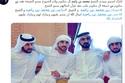 تهنئة أحلام بعد عقد قران 3 من أبناء الشيخ محمد بن راشد آل مكتوم
