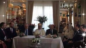 صور عقد قران الأميرة فوزية حفيدة الملك فاروق ومفاجأة شهدتها المراسم
