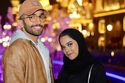 أحمد خميس يعلق على ظهور زوجته مشاعل بدون حجاب للمرة الأولى