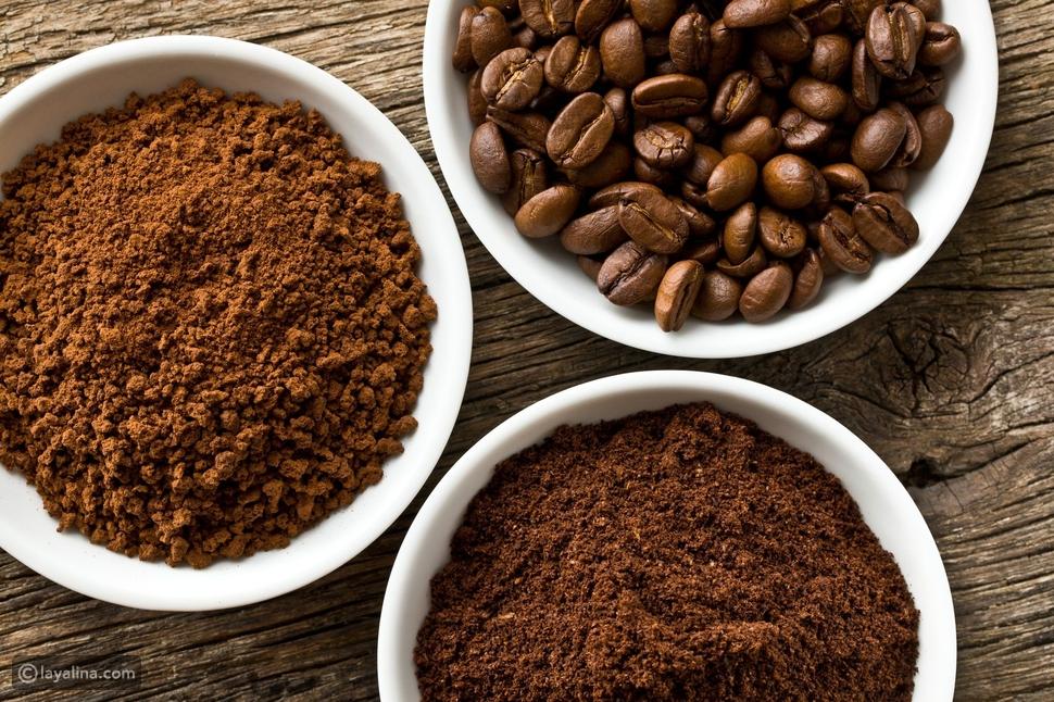 ماسكات القهوة التركية للوجه والجسم
