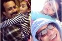 أجمل صور النجم أحمد داود مع عائلته الحقيقية وابنيه نسخة عن والدتهم الفنانة علا رشدي