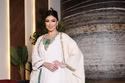 إطلالات لحفل عقد القران فستان منسق مع عباءة