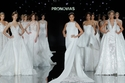 مجموعة فساتين زفاف برونوفياس 2017