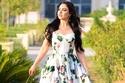 أطلت سهير القيسي بفستان Dolce & Gabbana في جلسة تصوير رقيقة