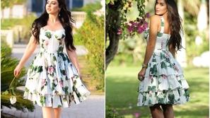 ياسمين صبري وسهير القيسي بنفس الفستان: من أبرزت جمال التصميم أكثر؟