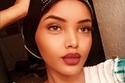 صور عارضة الأزياء المحجبة حليمة عدن