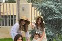 نانسي عجرم وبناتها في لقطات عائلية دافئة.. ميلا تنافس والدتها في الطول