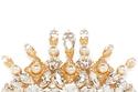 """دبوس شعر ذهبي محجر من""""Dolce&Gabbana;"""""""