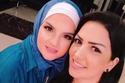 أحدث صورة لشيماء سعيد بالحجاب