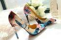 أحذية صيفية كعب عالي تتناسب مع الجينز والسهرات?