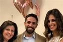 حفيد عمر الحريري مع عروسه ووالدته الفنانة ميريت الحريري