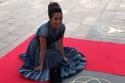 بلقيس فتحي تحتفل بنجمتها الخاصة في ممشى دبي للمشاهير بإطلالة من Dior
