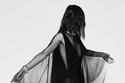 فستان شيفون من مجموعة Alexandre Vauthier هوت كوتور شتاء 2021