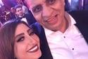 أحمد السبكي وبوسي من حفل زفاف ابنه كريم وشهد رمزي