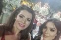 لفتت نادين نجيم الأنظار بأناقتها في حفل زفاف ابن المنتج صادق الصباح