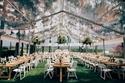 ديكورات صيفية لحفل زفاف في الخارج