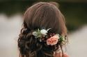 تسريحات عروس مع الورد 2018