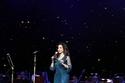 فستان أنيق من لجين عمران على المسرح في حفل أحلام