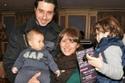 أحمد السعدني وزوجته السابقة أمل وابنيهما