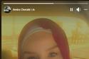 أميرة شرابي الممثلة الجزائرية أعلنت ترك الفن وارتداء الحجاب