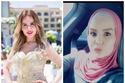 أميرة شرابي وجلعت صفحتها شخصية  وحذفت كل صورها قبل الحجاب