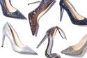 أحذيةبراقة للمناسبات