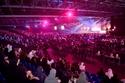 تفاعل الجمهور خلال الحفل الذي أقيم على مسرح مركز دبي التجاري العالمي