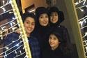 الظهور الأول لجيهان مع أبنائها