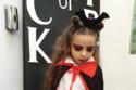 ابنة أسما شريف منير بإطلالة مصاصة دماء في حفل الهالوين