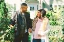 داليا  مبارك وزوجها في أحدث جلسة تصوير أواخر أيام الحمل