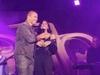 سر انزعاج عمرو أديب من جرأة عمرو دياب مع دينا الشربيني على المسرح!
