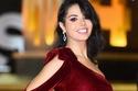 نسرين أمين بفستان مخملي في مهرجان القاهرة
