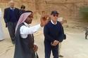 صور هذا ما فعله عمر خيرت في رحلته السياحية في مدائن صالح في السعودية