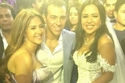 تظهر فستان دنيا سمير غانم بالكامل في حفل زفاف إيمي