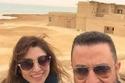 أحمد سعيد عبد الغني وروجينا  في كواليس كفر دلهاب