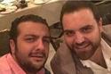 أيمن عبد السلام مع طلال مارديني