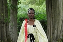 فستان أصفر بتصميم فيكتوري من Erdem